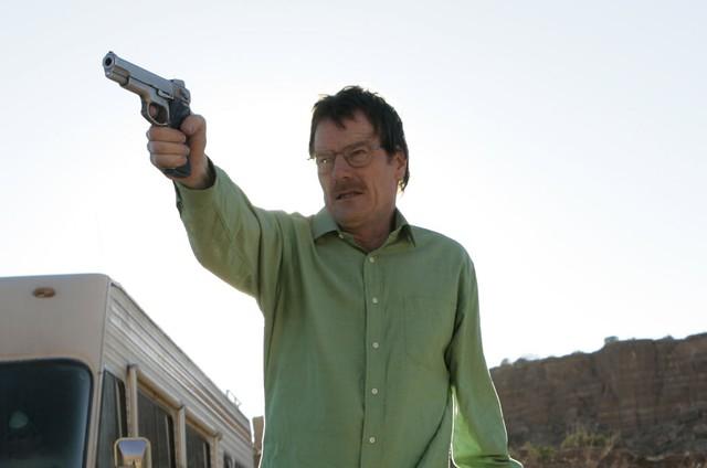 O original: Walter White no piloto de 'Breaking bad' (Foto: Reprodução da internet)