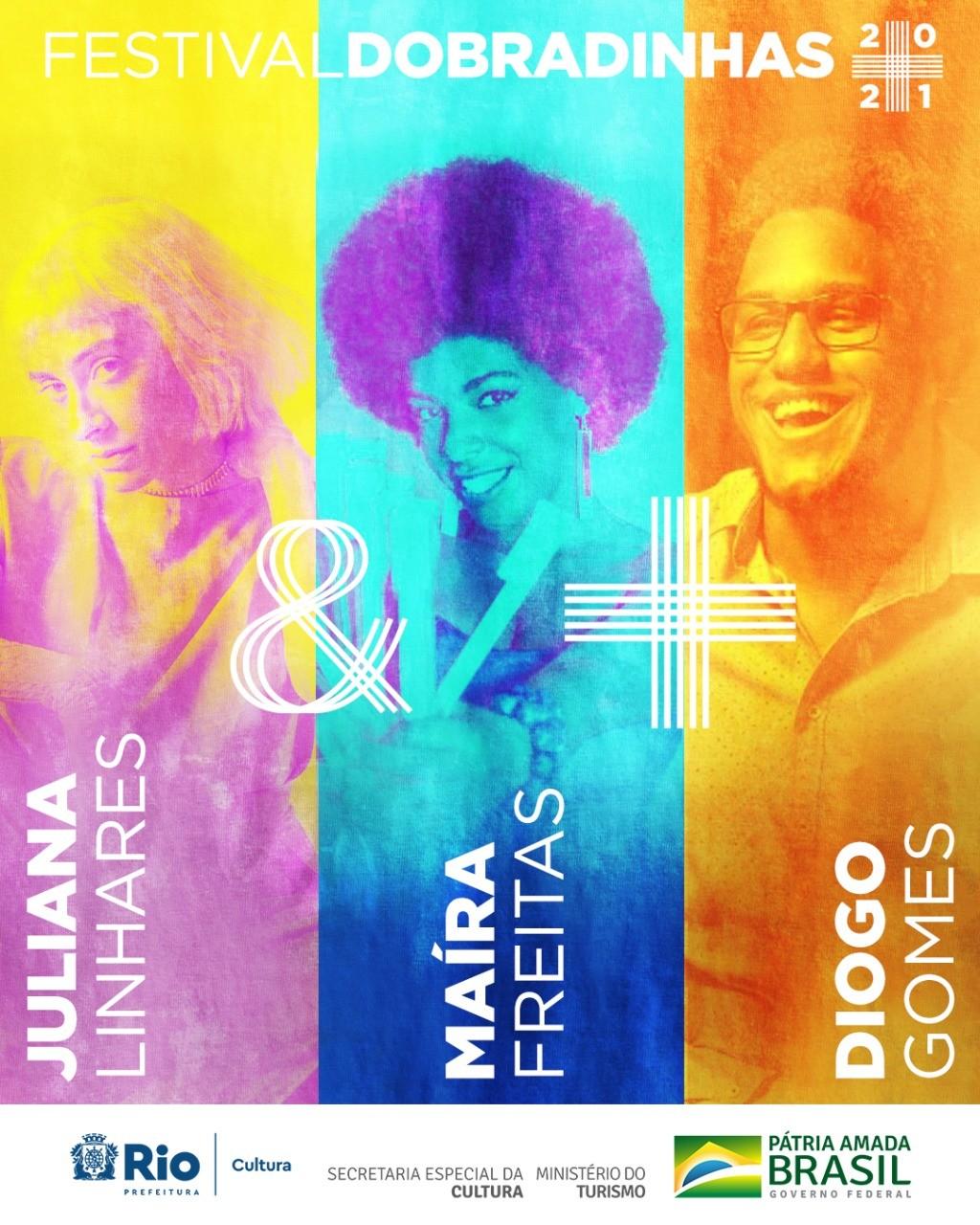 Dobradinhas: Juliana Linhares e Maíra Freitas + Diogo Gomes