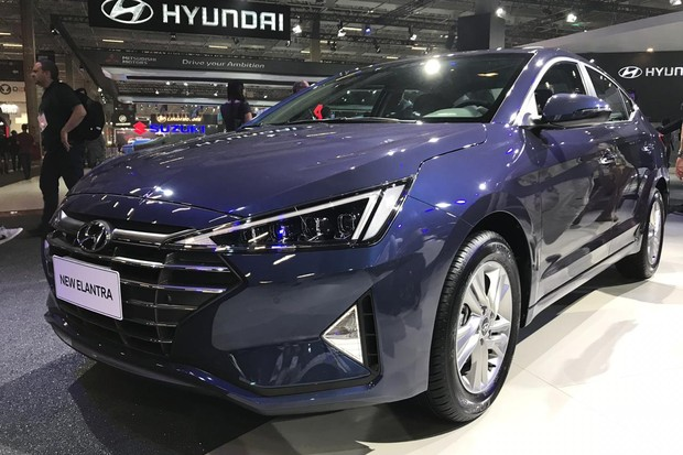 Hyundai Elantra de nova geração também chega em breve (Foto: Diogo de Oliveira/Autoesporte)
