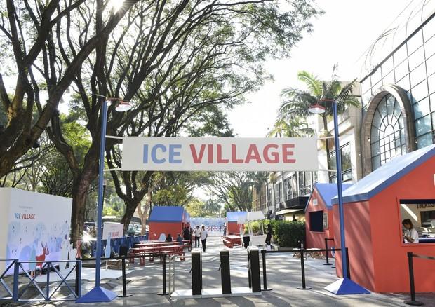 Iguatemi São Paulo recebe a segunda edição do Ice Village (Foto: Divulgação/Iguatemi São Paulo)