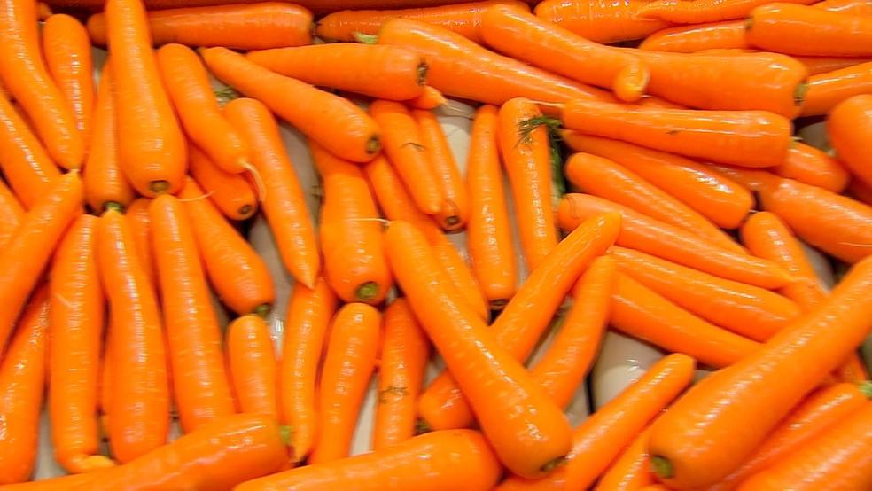 Piedade se destaca no beneficiamento de cenoura | Nosso Campo | G1