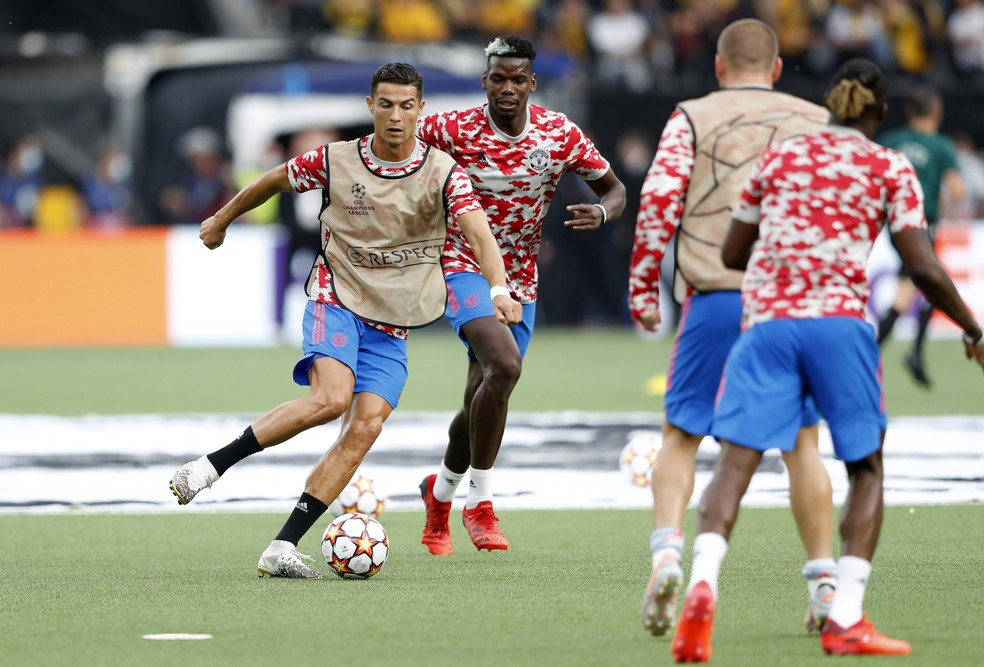 Cristiano Ronaldo Manchester United — Foto: Reuters