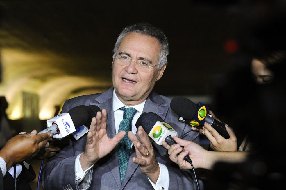 Renan Calheiros também é investigado por suspeita de envolvimento com corrupção na Petrobras e na Transpetro (Foto: Geraldo Magela/Agência Senado)