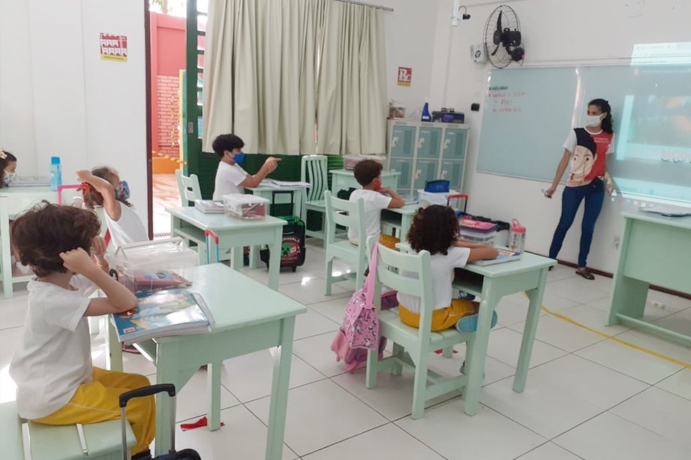 Alunos do Ensino Fundamental — Foto: Ascom NE