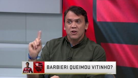 """Petkovic critica Barbieri por substituição de Vitinho: """"Não tem como justificar"""""""