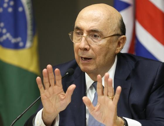 O ministro da Fazenda, Henrique Meirelles (Foto: Wilson Dias/Agência Brasil)