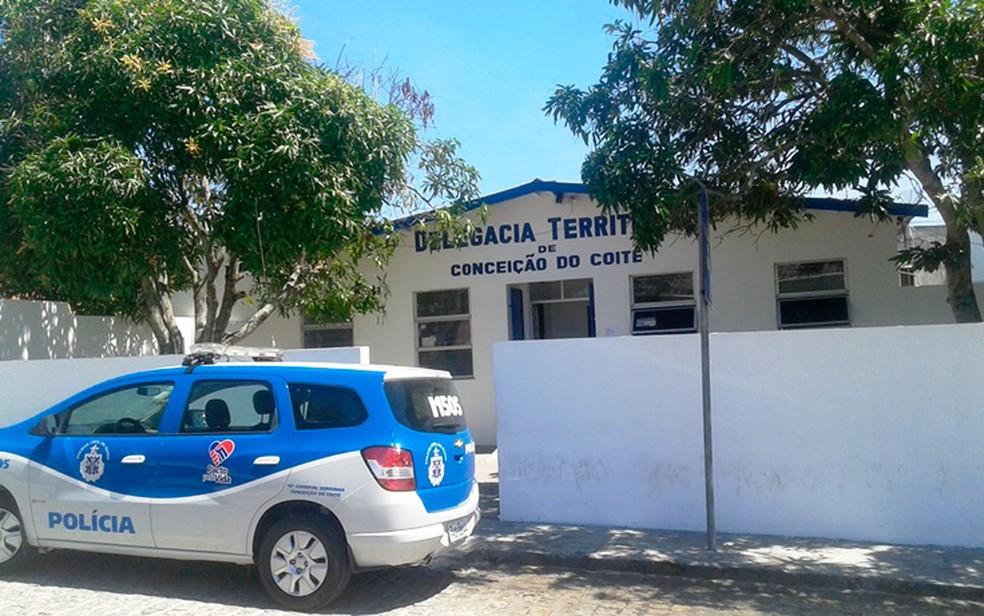 Homem foi preso em Conceição do Coité — Foto: Raimundo Mascarenhas/Site Calila Notícias