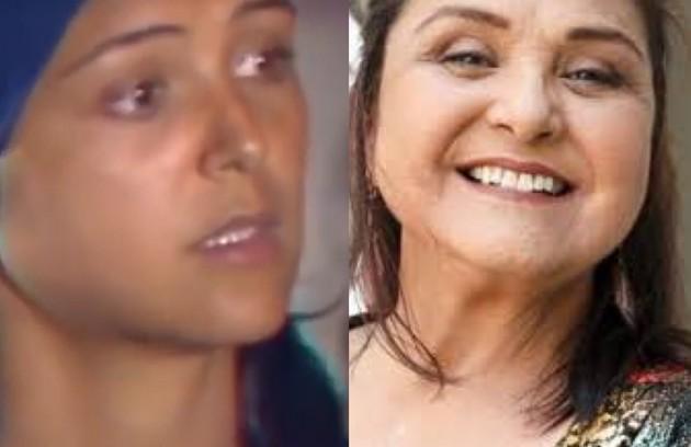 """Elizângela interpretou Patrícia, jovem oprimida pelos pais. Ela está na reprise de """"A força do querer"""" (Foto: TV Globo - Reprodução/Instagram)"""