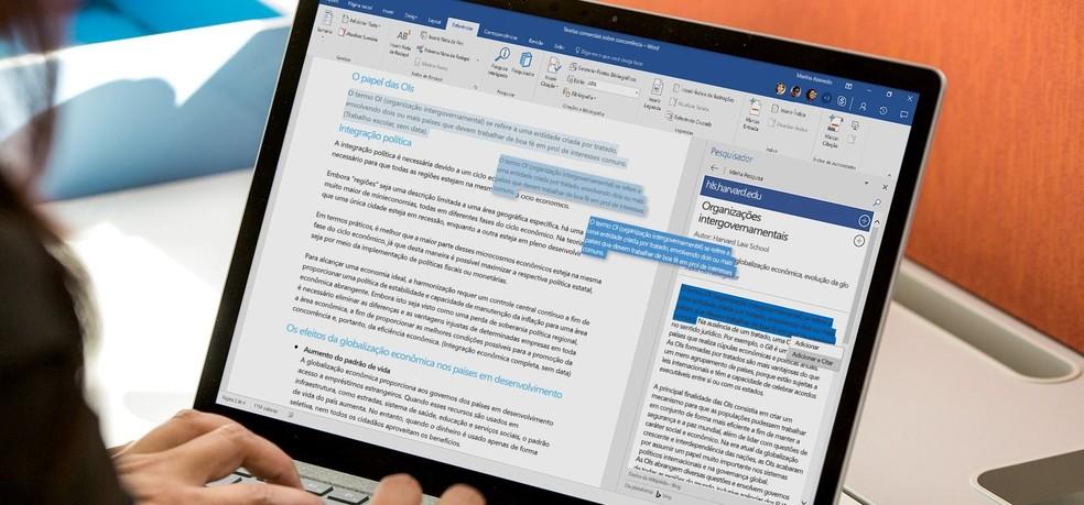60723ca63 ... Office 365 é ideal para quem precisa de praticidade e organização  (Foto: Divulgação/