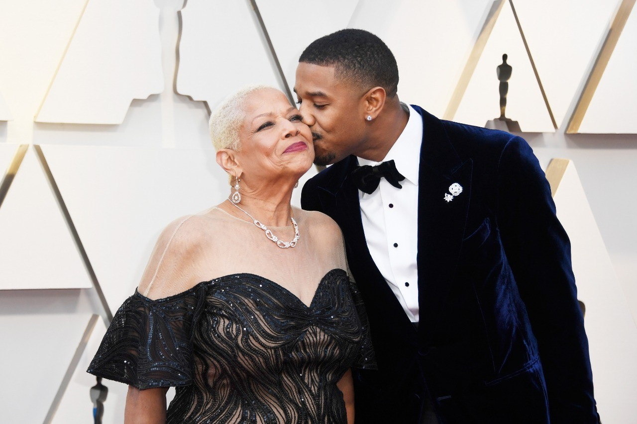 Michael B. Jordan e Donna Jordan (Foto: Getty Images)