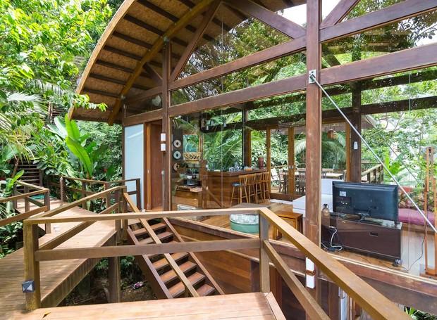Casa com vista, Ubatuba, Brasil (Foto: Airbnb/ Reprodução)