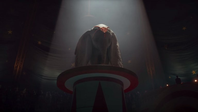 Uma cena da versão live-action do clássico Dumbo (Foto: Reprodução)