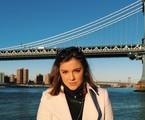 Alice Wegmann em Nova York | Reprodução