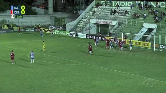 """Fernandes celebra vantagem do CRB, mas alerta para os gols sofridos: """"Bisonhos"""""""