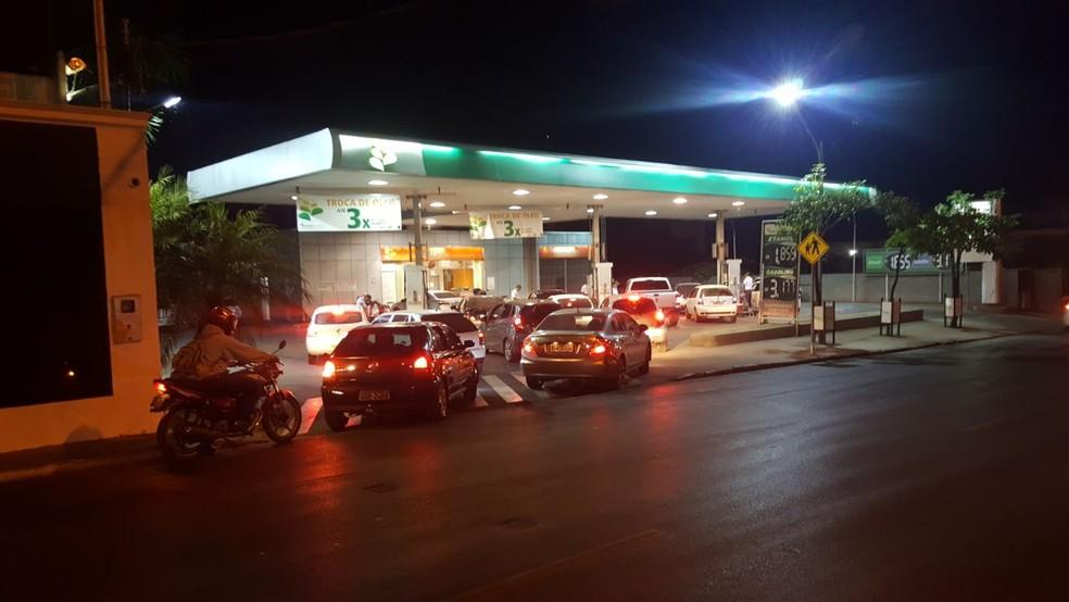 Preço da gasolina tem alta de 24,2% na Capital
