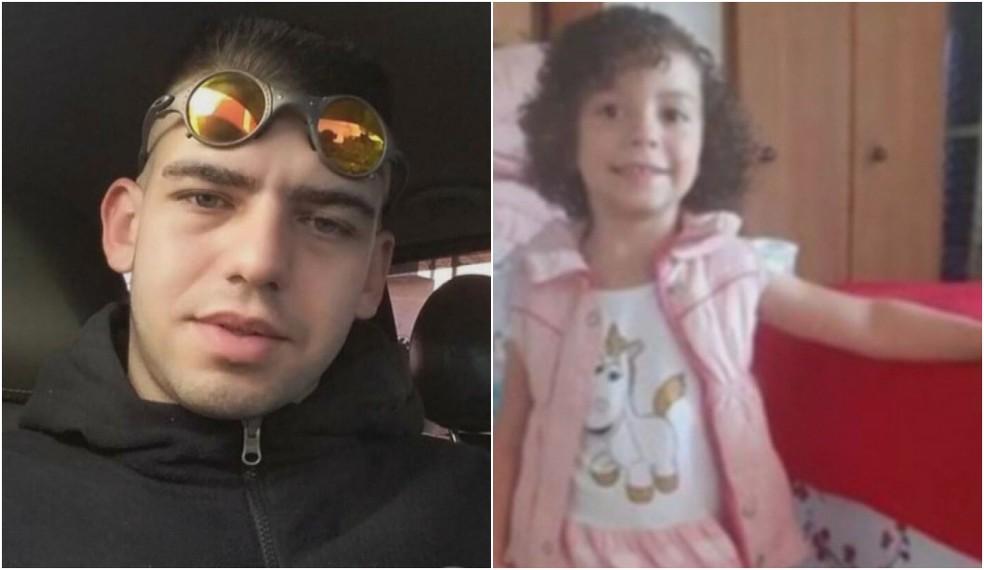 Bruno Freitas, conhecido como Brunão, suspeito de matar a menina Ester, de 4 anos.  — Foto: Reprodução/TV Globo