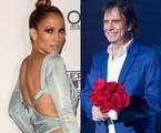 Jennifer Lopez e Roberto Carlos | AFP/Caio Girardi