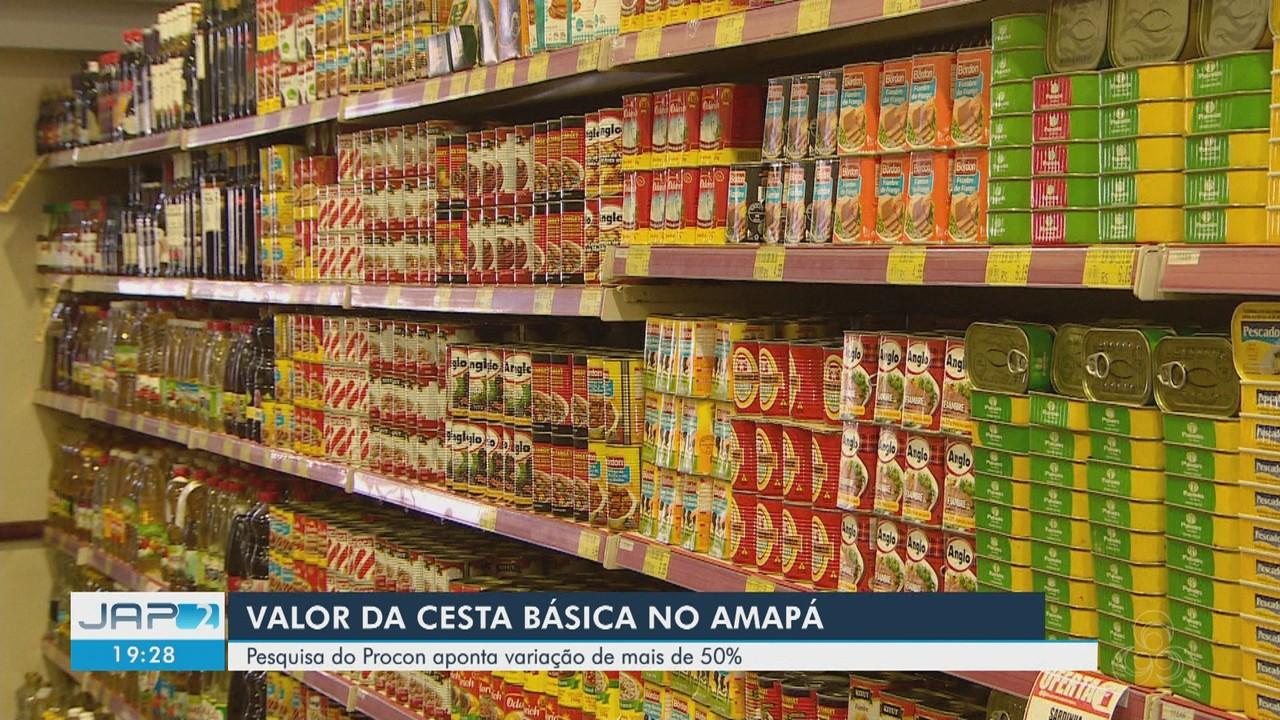 Preços de itens da cesta básica apresentam grande variação entre supermercados, diz Procon