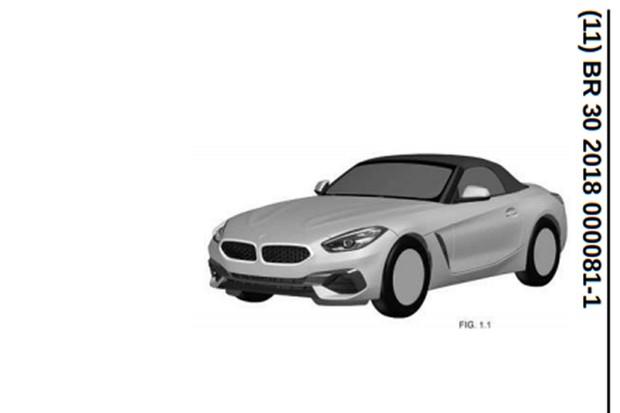 BMW Z4 aparece no INPI (Foto: Divulgação)