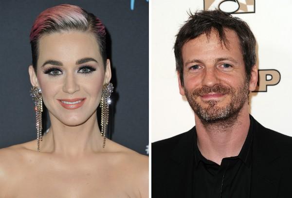 A cantora Katy Perry e o produtor e DJ Dr. Luke (Foto: Getty Images)