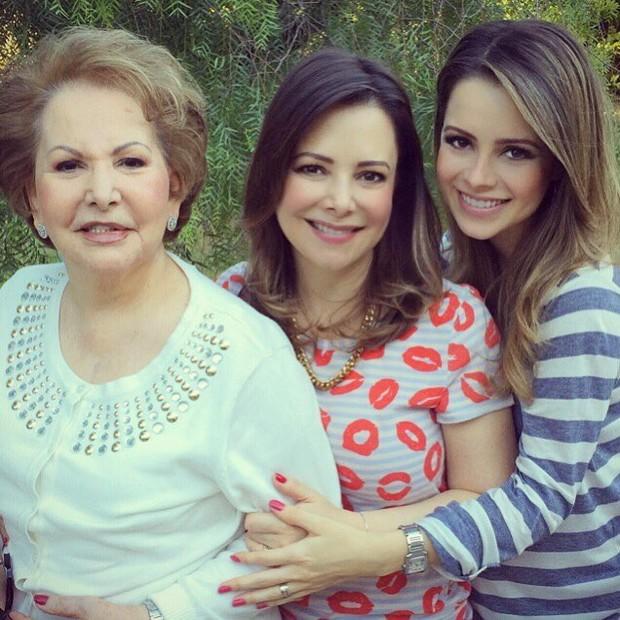 """""""Parecem irmãs"""", dizem seguidores sobre semelhança entre Sandy e mãe (Foto: Reprodução/Instagram)"""