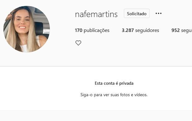 Namorada de Ewerton Martins (Foto: Reprodução/Instagram)
