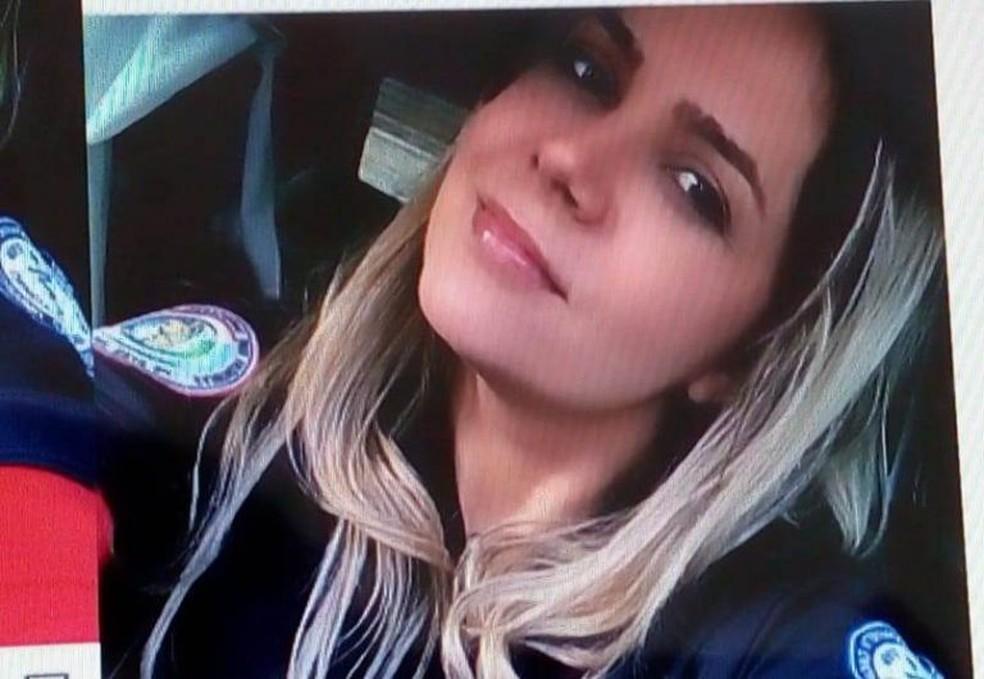 Alcyany Chaves é suspeita de ser servidora fantasma — Foto: Divulgação/ Polícia Civil