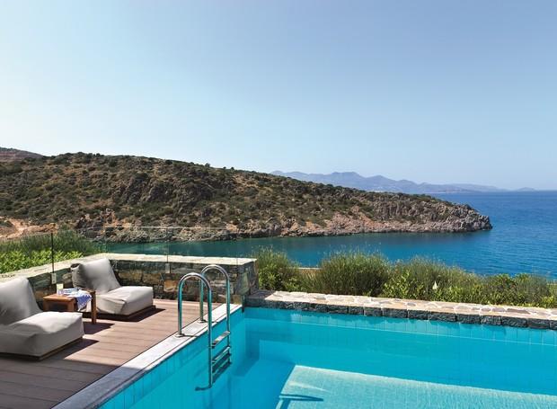 O Daios Cove Luxury Resort & Villas possui vários tipos de acomodações. Das mais simples às mais exclusivas (Foto: Daios Cove Luxury Resort & Villas/  Reprodução)
