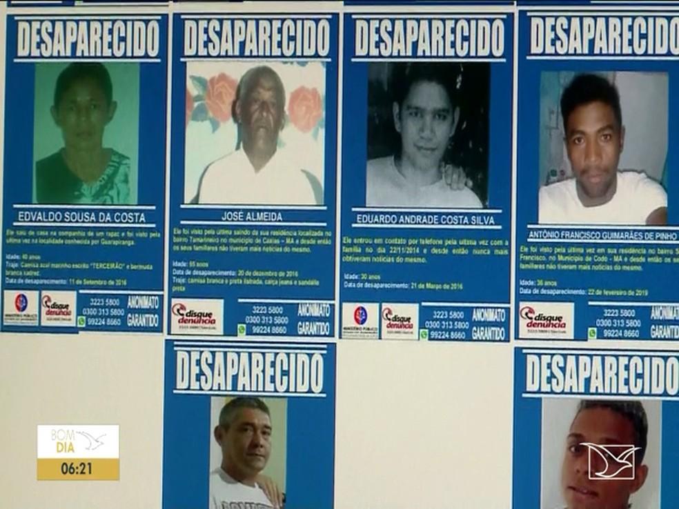 MARANHÃO tem cerca de 55 desaparecidos por mês, diz Anuário Brasileiro de Segurança Pública — Foto: Reprodução/TV Mirante