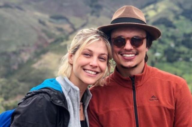 Christiana Ubach com o marido, Rafael Lozano (Foto: Reprodução)