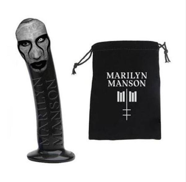 O vibrador oficial de Marilyn Manson, feito com as feições do músico (Foto: Divulgação)