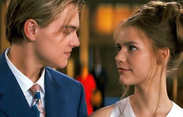 Claire Danes e Leonardo DiCaprio em 'Romeu + Julieta' (Foto: Divulgação)