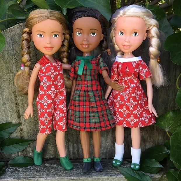Bonecas reformadas pelo Tree Change Dolls (Foto: Reprodução/Facebook)