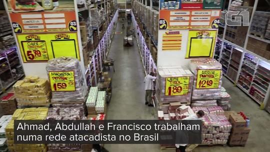Conheça os refugiados sírios que recomeçaram no Brasil como repositores de estoque e viraram chefes em atacadista de SP