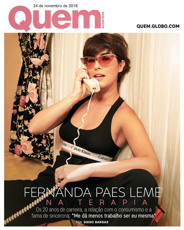 Fernanda Paes Leme Capa (Foto:  )