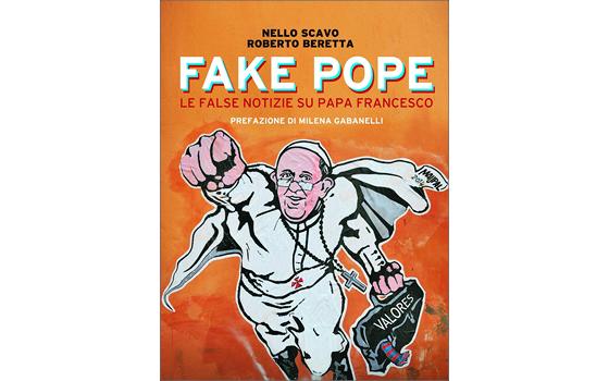 """Capa de """"Fake Pope"""", livro recém-lançado na Itália (Foto: Reprodução)"""