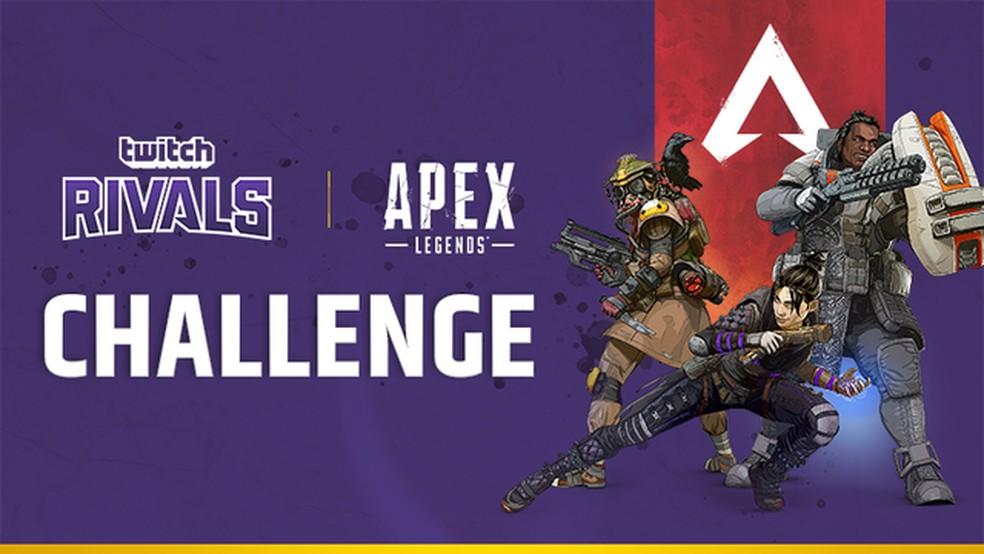 O Twitch Rivals foi o primeiro torneio oficial de Apex Legends — Foto: Reprodução/Twitch