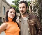 Paolla Oliveira e Sergio Guizé: Vivi e Chiclete de 'A dona do pedaço'   João Miguel Júnior/ TV Globo