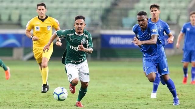 Verdão venceu o Cruzeiro no jogo de ida da final da Copa do Brasil Sub-20