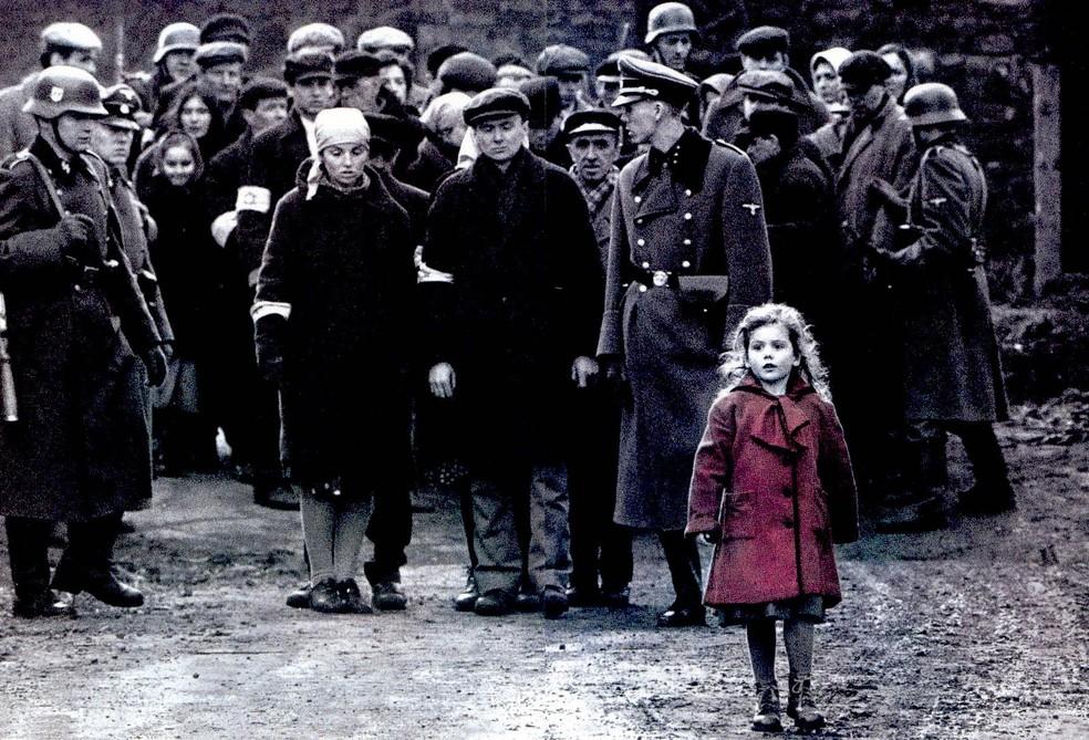 Cena do filme A Lista de Schindler  — Foto: Divulgação