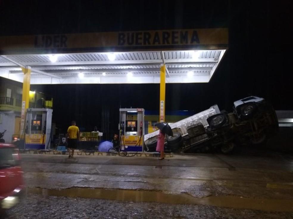 Após o caso, o local foi isolado e deve ser liberado depois da  reforma.  — Foto: Blog Vermelhinho Bahia