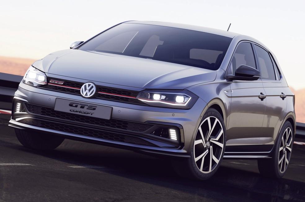 volkswagen-polo-gts-concept-017800000c860850 Carros 2019: veja 60 lançamentos esperados até o fim do ano...