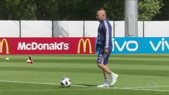Contra a Croácia, treinador argentino diz que vai mudar time e estratégia