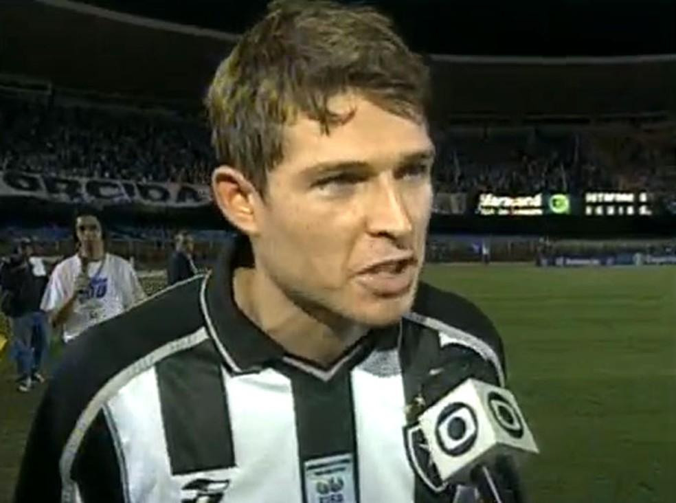 Rodrigo Beckham, ex-jogador do Botafogo — Foto: Reprodução