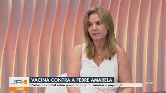 Municípios da Grande Florianópolis intensificam vacinação contra febre amarela neste mês
