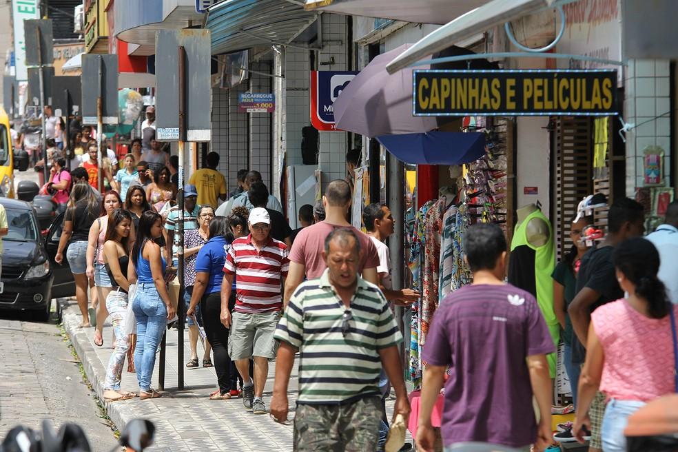 Vendas do comércio varejista cresceram 1% em abril, segundo IBGE (Foto: Paulo Sérgio de Oliveira / Sindcomécio)