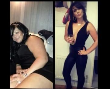 Leanne costumava divulgar imagens da sua transformação em redes sociais da web