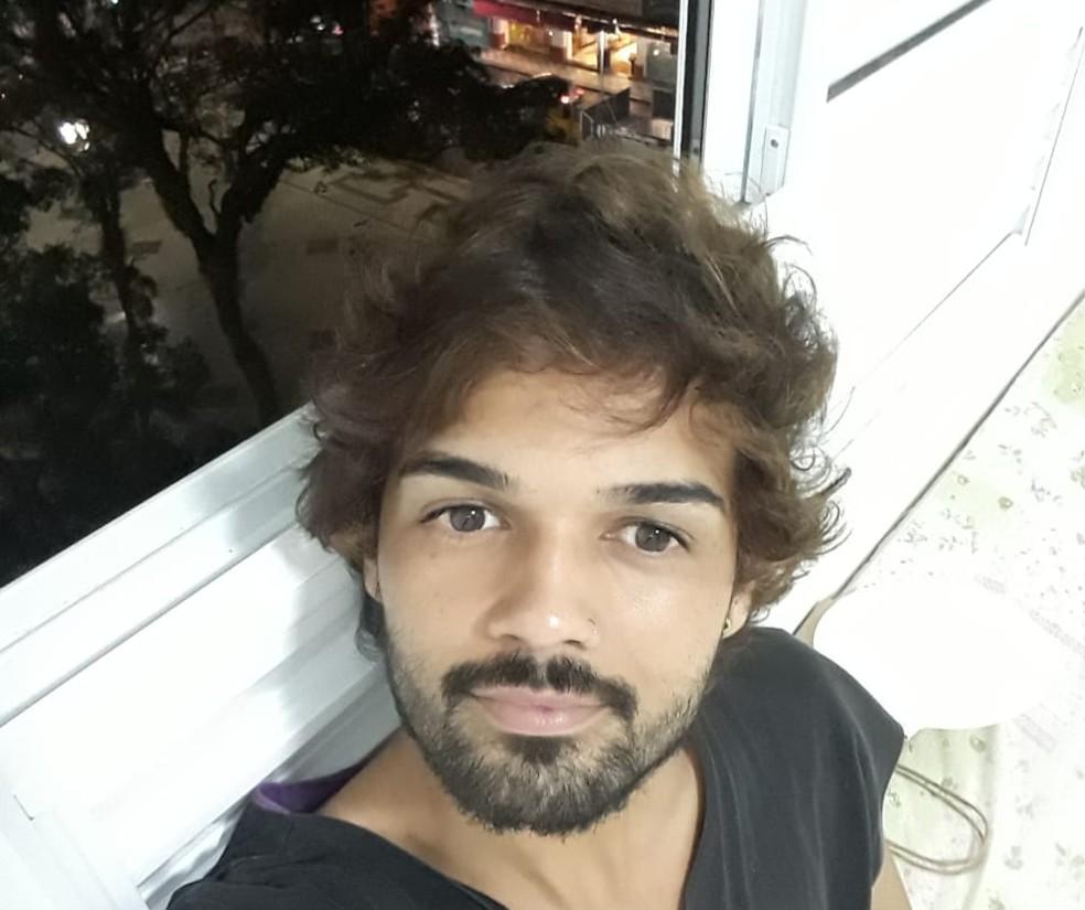 Lucas Fonseca alugou apartamento por meio de startup voltada para pessoas com baixa renda, em Campinas. — Foto: Arquivo pessoal/Lucas Fonseca