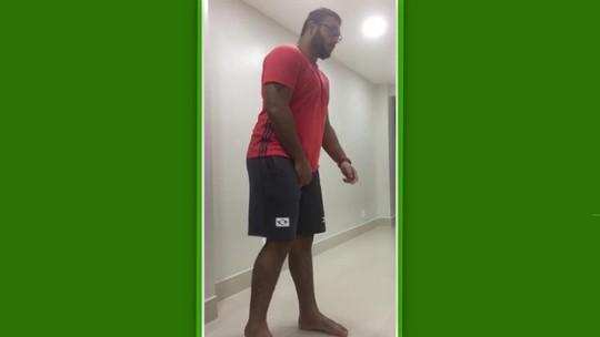 Grave lesão, saída do Flamengo e vaga na seleção: a saga do judoca Ruan Isquierdo