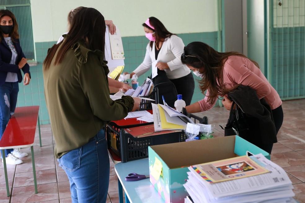 Segundo a prefeitura, entregas serão retomadas na quinta-feira (16) e sexta-feira (17), em Foz do Iguaçu — Foto: Prefeitura de Foz do Iguaçu/Divulgação
